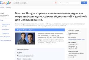 продвижение под google