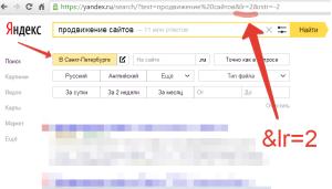 Код региона Яндекс скриншот