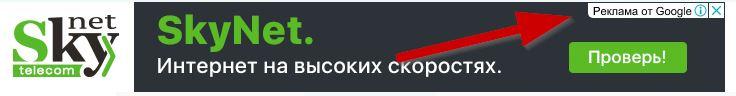 реклама КМС Google