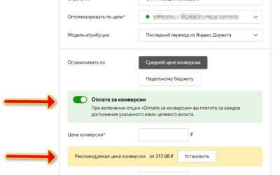 Автоматические стратегии в Яндекс.Директ